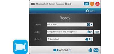 ThunderSoft Screen Recorder - Best screen recording software